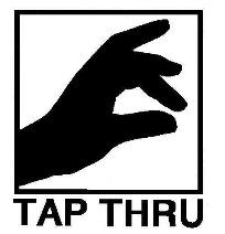 Tap Thru logo