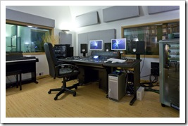High Barn Studios Control Room