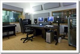 High Barn Studios Control Room