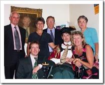 Family at PhD Graduation