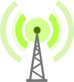 Aerial transmitting a signal