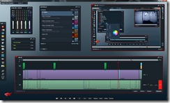 Lightworks Video Editor Editing Screenshot