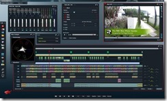 Editing footage of the Chelsea Flower show with the Lightworks video editor