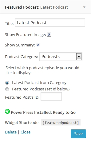 Featured podcast screenshot-
